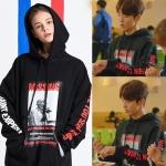 เสื้อฮู้ด (Hoodie) MISSING แบบ Nam Joo Hyuk ในซีรี่ย์ Weightlifting Fairy Kim Bok-Joo