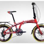 จักรยานพับได้ COYOTE AERO 20นิ้ว 14 SPEED เฟรมอลู 20 นิ้ว