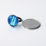 แหวน SUPER JUNIOR (สีฟ้า)
