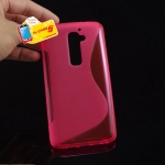 Soft S-Line Wave TPU Gel Cover Case Skin for LG G2 mini