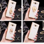เคส Samsung Galaxy A8 ซิลิโคน TPU ขอบเงางาม สวยงามมากๆ หรูหราสุดๆ ราคาถูก