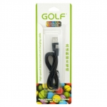 Golf สายชาร์จ Micro USB (Golf Micro USB Charging Cable) สีดำ