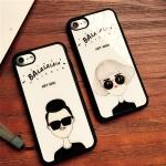 Case iPhone 7 Plus (5.5 นิ้ว) พลาสติกลายผู้หญิงผู้ชายสุดแนว ราคาถูก (ไม่รวมสายคล้อง)