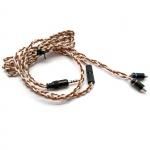 ขาย VE สายเปลี่ยนหูฟัง Shure ขั้ว MMCX แบบธรรมดา และแบบ 2.5TRRS