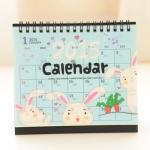 2015 Rabbit Desk Calendar