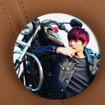 เข็มกลัดกลม BTOB Yook Sung Jae