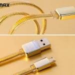 สายชาร์จไอโฟนสีทอง REMAX GOLD Series โปรสุดคุ้ม