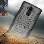 เคส LG G4 Stylus เคสกันกระแทก สวยๆ ดุๆ เท่ๆ แนวถึกๆ อึดๆ แนวทหาร เดินป่า ผจญภัย adventure เคสแยกประกอบ 3 ชิ้น ชั้นในเป็นยางซิลิโคนกันกระแทก ครอบด้วยแผ่นพลาสติกอีก1 ชั้น กาง-หุบขาตั้งได้ มีปลอกฝาหน้าแบบสวมสไลด์ ใช้หนีบเข็มขัดเพื่อพกพาได้