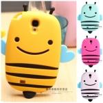 เคส S4 Case Samsung Galaxy S4 i9500 เคสผึ้งอ้วนตัวกลมน่ารักๆ Silicone 3D เคสมือถือราคาถูกขายปลีกขายส่ง
