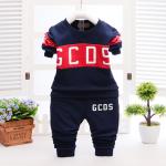 เสื้อ+กางเกง สีกรม แพ็ค 4ชุด ไซส์ 100-110-120-130