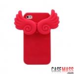 case iphone 4s 4 เคสติดปีกนางฟ้า สามารถตั้งได้ น่ารักๆ South Korean new guardian angel Silicone Case