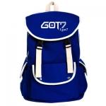 กระเป๋าสะพายหลัง GOT7 LOGO สีน้ำเงิน