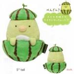 ตุ๊กตาเพนกวิ้นซูมิกโกะแตงโม Sumikko guashi Penguin Plush ( Watermelon Series )