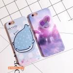 Case iPhone 6s Plus,6 Plus (5.5 นิ้ว) พลาสติก TPU ลายปลาวาฬน้อย ม้าน้อย น่ารักมากๆ ราคาถูก