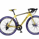 จักรยานเสือหมอบไซโคลครอส COYOTE CIVATA 700C ,14 สปีด เฟรมอลูซ่อนสาย(ธรรมดา350,EMS600,kerryไม่รับส่ง)