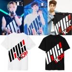 เสื้อแฟชั่นไอดอลเกาหลี #iKON (ระบุสีที่ช่องหมายเหตุเพิ่มเติม)