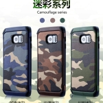 เคส Samsung Galaxy S6 เคสกันกระแทกแยกประกอบ 2 ชิ้น ด้านในเป็นซิลิโคนสีดำ ด้านนอกพลาสติกลายทหาร ลายพราง สวย แกร่ง ถึก ราคาถูก ราคาส่ง ราคาปลีก