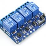 4CH 5V Relay Module (opto)