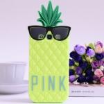 เคส s3 case Samsung Galaxy s3 Victoria's Secret pineapple PINK สับปะรด ซิลิโคน 3D ราคาส่ง ขายถูกสุดๆ