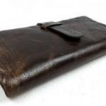 กระเป๋าสตางค์ผู้ชายใบยาว หนังแท้ ดีไซ สวย สไตล์วินเทจ กระเป๋า สตางค์ ผู้ชาย แบรนด์ กระเป๋า ตัง ชาย
