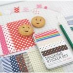 Tin Case_Masking Sticker Set (Basic)