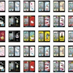 film iphone 4/4s ฟิล์มกันรอยไอโฟน4/4s ฟิล์มกันรอยหน้าหลัง ลาย การ์ตูน hello kitty กังนัมสไตล์ adidas โดเรมอน หลายลาย สวยๆ แนวๆ น่ารักๆ