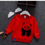 เสื้อ สีแดง แพ็ค 4ชุด ไซส์ 6-8-10-12