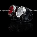 ไฟหน้าซิลิโคน Zecto Drive LED Light ( USB ReCharge),HJ-030 มีสีขาว(สีแดงหมด)