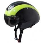 หมวกจักรยาน AURORA Time Trial รุ่น AU-T01 (3 ชั้น)มีสีดำเทาไซต์M/L