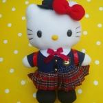 ตุ๊กตาเฮลโหลคิตตี้ชุดเรียนญี่ปุ่น Hello Kitty Japanese costume