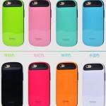 Case iPhone 6 Plus / 6s Plus (5.5 นิ้ว) พลาสติกสีพลาสเทลน่ารักมากๆ ไม่ซ้ำใคร ราคาถูก