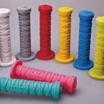 ปลอกแฮนด์ซิลิโคน Woho NINJA BIKE GRIPมีสีแดง,สีขาว,สีดำ,สีเหลือง,สีเทา,สีฟ้า