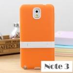 case note 3 เคส Samsung Galaxy note 3 เคสซิลิโคนโคนนิ่มๆ ใสโปร่งแสง มีขาตั้งพลาสติกกางได้ หุบได้ แนวๆ เท่ๆ ราคาส่ง ขายถูกสุดๆ
