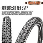 ยางนอกขอบพับ MAXXIS CROSSMARK SILKWORM,26X1.95 (47-559)ขอบพับ,ETB66722500