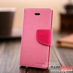case iphone 5 เคสไอโฟน5 เคสกระเป๋าหนังสีเจ็บๆ สลับสี สวยๆ ด้าในเป็นวิลอโคน TPU นิ่มๆ