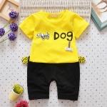 ชุดเซต Dog สีเหลือง [size 6m-1y-2y-3y]