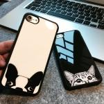Case iPhone 7 Plus (5.5 นิ้ว) พลาสติกลายน้องหมาน้องแมว ราคาถูก (ไม่รวมสายคล้อง)