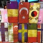 case iphone 5 เคสไอโฟน5 เคสลายธงชาติเก่าๆ เหมือนผ่านสมรภูมิมาเลย สวยๆ เท่ๆ retro flag United States United Kingdom