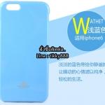เคส iPhone 6/6s แบรนด์ Goospery (Mercury Jelly Case) สีฟ้า