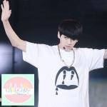 เสื้อยืดแฟชั่น BTS JIN V สีขาว