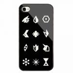 EXO เคส EXO LOGO iPhone4/4s/5/5s สีดำ