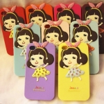 case iphone 5 เคสไอโฟน5 3D Bonnie Joonie Girl Silicon Case