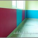 ผนังกันกระแทก สีพื้น (ไม่มีลวดลาย) ขนาด 90x100 cm