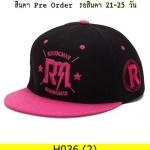 หมวก Hiphop แฟชั่น ราคาถูก รหัส H036