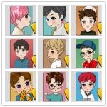 แผ่นรองเม้าส์ EXO EX'ACT (Fanart)