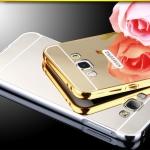เคส Samsung Galaxy J2 ขอบเคสโลหะ Bumper + พร้อมแผ่นฝาหลังเงางามสวยจับตา ราคาถูก
