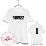 [FANMADE]เสื้อวันเกิด EXO-K Football T-shirt (สีขาว) SUHO 910522 - 1