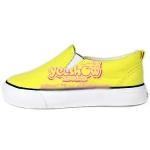 รองเท้าแคนวาสเด็กสีเหลือง