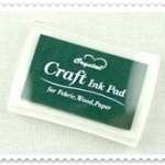 Crystal Craft Ink Pad (สีเขียวเข้ม)