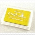 Crystal Craft Ink Pad (สีเหลือง)